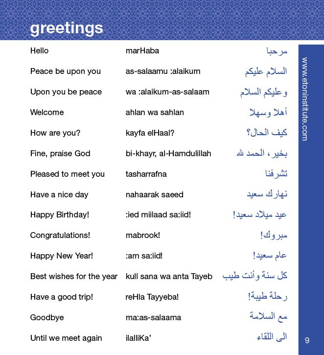 Arabic for Dummies – 3 Audio CDs and Guide – Learn to Speak Arabic