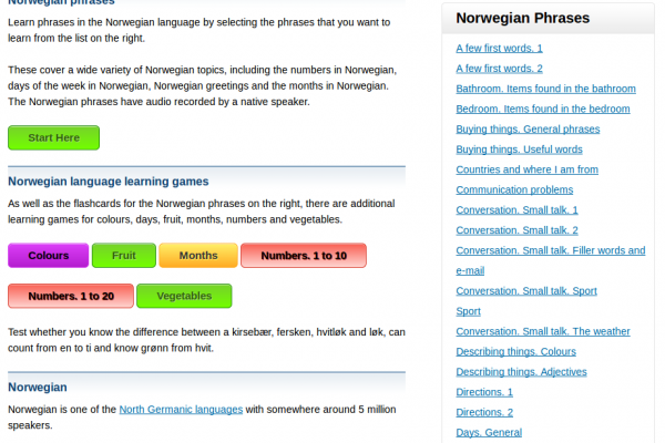 Pimsleur Conversational Norwegian Language 8 Audio CDs – Learn to