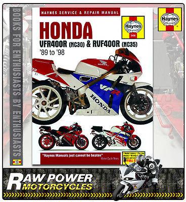 Honda VFR400 (NC30) and RVF400 (NC35) V-Fours 1989 ... on