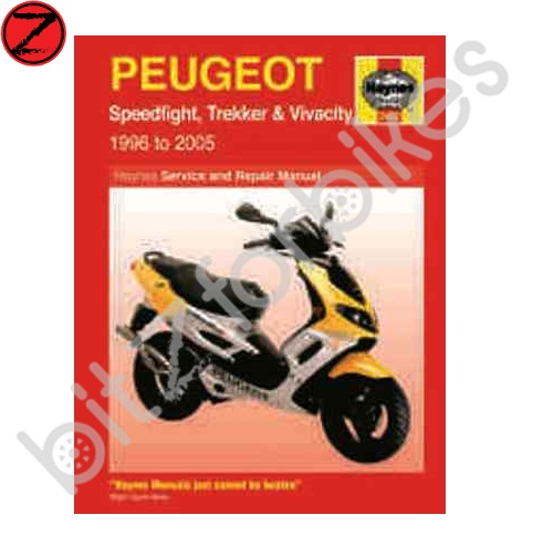 Peugeot Speedfight Trekker And Vivacity Scooters 1996