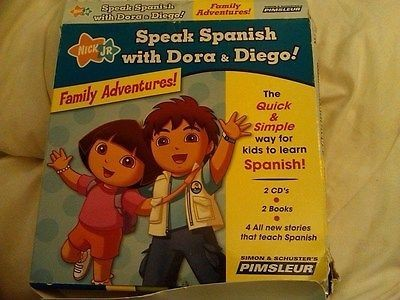 Speak Spanish with Dora and Diego: Family Adventures! by
